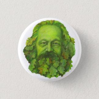 Green Karl Marx badge
