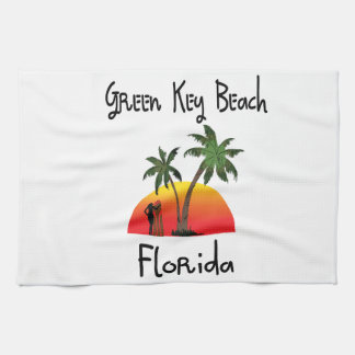 Green Key Florida Kitchen Towels