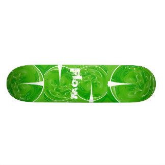 Green Key Flow Skateboard Decks
