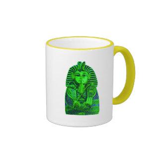Green King Tut Mugs