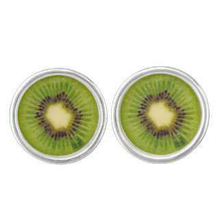 Green Kiwi Delicious 4Penelope Cuff Links
