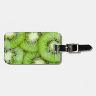 Green Kiwi Fruit Luggage Tag
