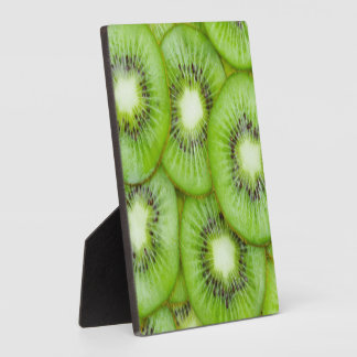 Green Kiwi Fruit Plaque