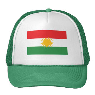 GREEN Kurdistan Flag Cap