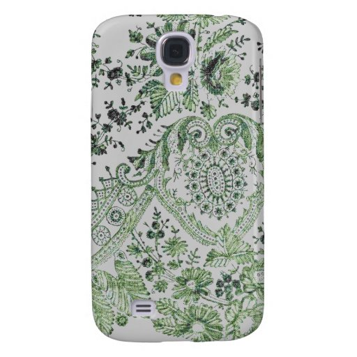Green Lace Samsung Galaxy S4 Cover