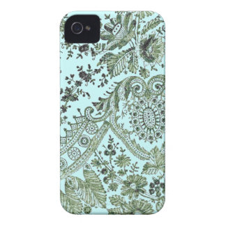 Green Lace Roses iPhone 4 Case-Mate Cases