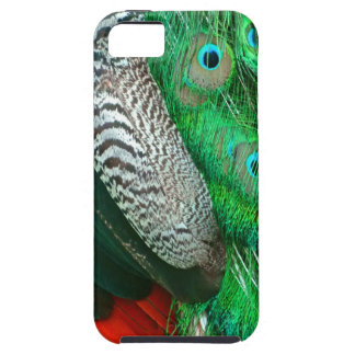 Green Lagoon Feathers iPhone 5 Cover
