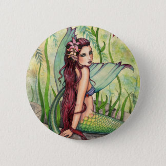 Green Lagoon Mermaid Button, Pin by Molly Harrison