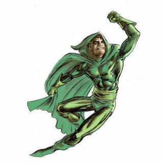 GREEN LAMA (classic costume) Photo Sculpture