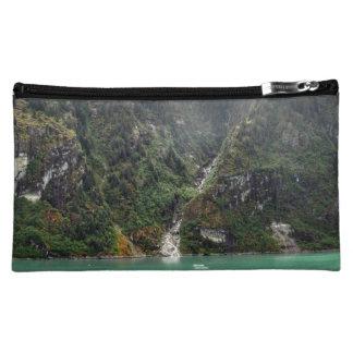 Green Landscape Bag Makeup Bag