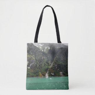 Green Landscape Tote Bag