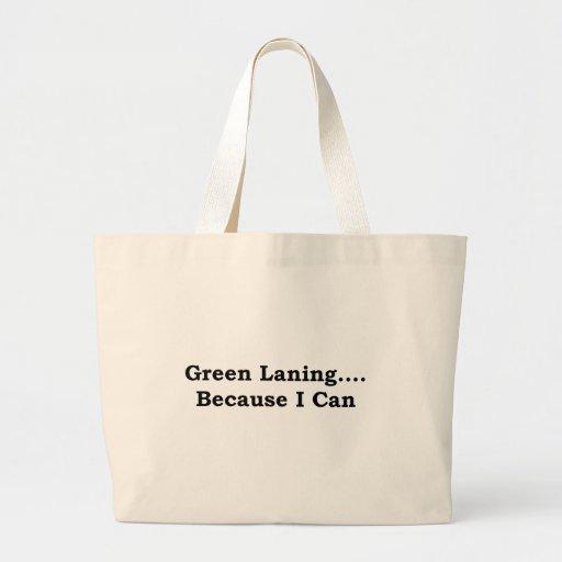 Green laning black bags