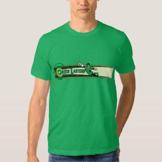 Green Lantern and Logo T Shirt