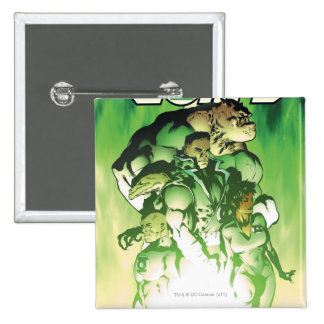 Green Lantern Corps 15 Cm Square Badge