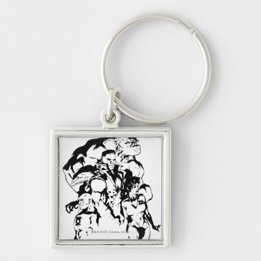 Green Lantern Corps, Black and White Keychains