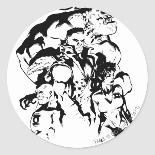 Green Lantern Corps, Black and White Stickers
