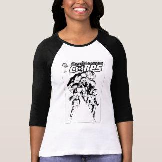 Green Lantern Corps, Black and White Tee Shirt