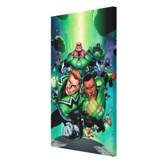 Green Lantern Corps Canvas Print