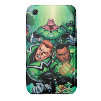 Green Lantern Corps iPhone 3 Case-Mate Cases