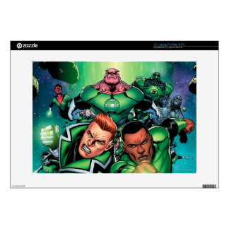 Green Lantern Corps Decals For Laptops