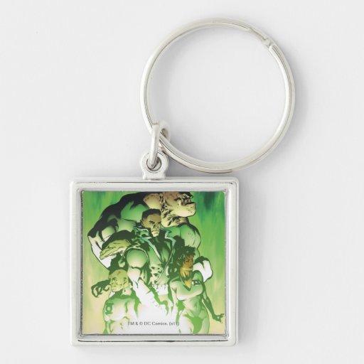 Green Lantern Corps Key Chain