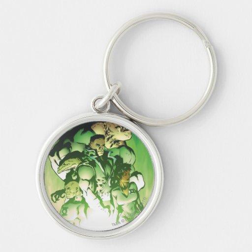 Green Lantern Corps Keychains
