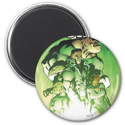 Green Lantern Corps Fridge Magnet