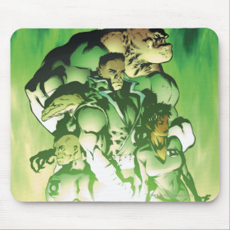 Green Lantern Corps Mouse Pad