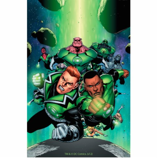Green Lantern Corps Cut Out