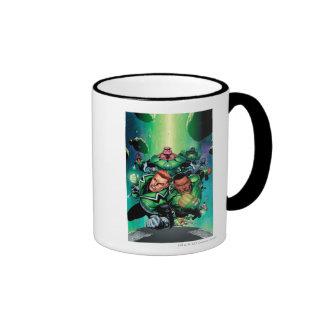 Green Lantern Corps Ringer Mug