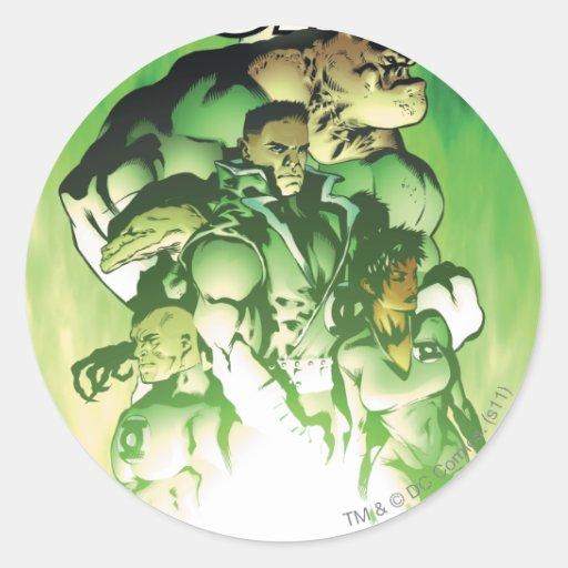 Green Lantern Corps Stickers