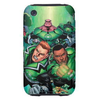 Green Lantern Corps Tough iPhone 3 Cases