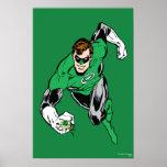 Green Lantern Fly Forward Poster