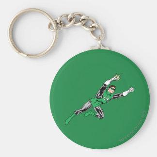 Green Lantern Fly Right Keychains