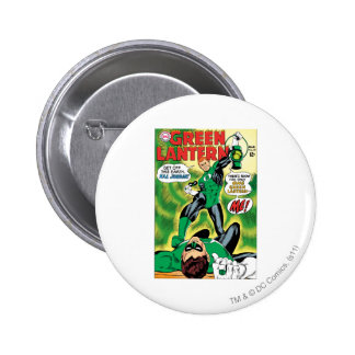 Green Lantern - Get Off this Earch Hal Jordan 6 Cm Round Badge