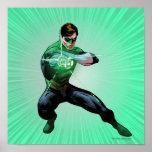 Green Lantern & Glowing Ring Posters