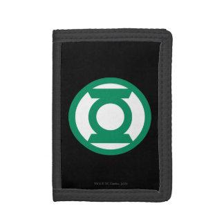 Green Lantern Logo 13 Tri-fold Wallet