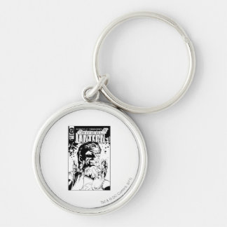 Green Lantern  - Many Rings, Black and White Silver-Colored Round Key Ring