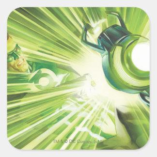 Green Lantern Power Square Sticker