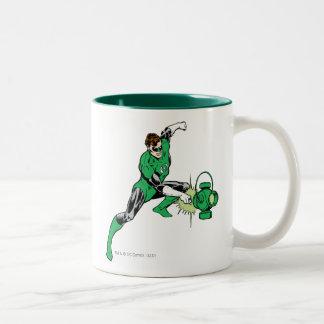 Green Lantern Power Two-Tone Coffee Mug