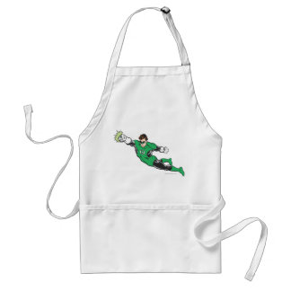 Green Lantern Punches Aprons