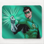 Green Lantern & Ring Mouse Pad