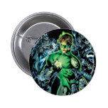 Green Lantern Surrounded - Colour 6 Cm Round Badge