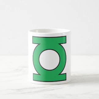 Green Lantern Symbol Coffee Mug
