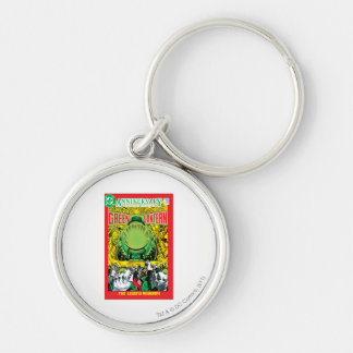 Green Lantern - The Legend Reborn Silver-Colored Round Key Ring