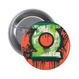 Green Lantern - Twisted Innocence Symbol 6 Cm Round Badge