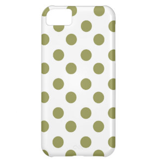 Green Large Polk-a-dots iPhone 5C Case