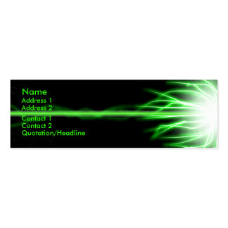 Green Laser Business Cards