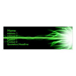 Green Laser Business Card