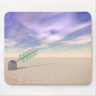 Green Laser Technology Mouse Pad